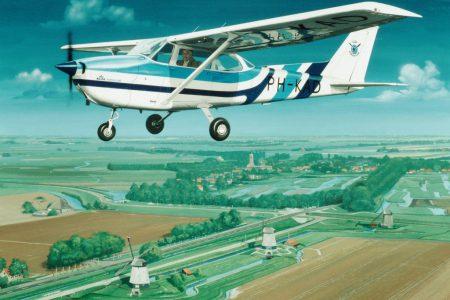 Cessna 172. Schermerhorn 25 cmJPG