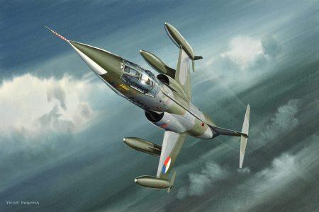 Lockheed F-104G KLu 25 cm