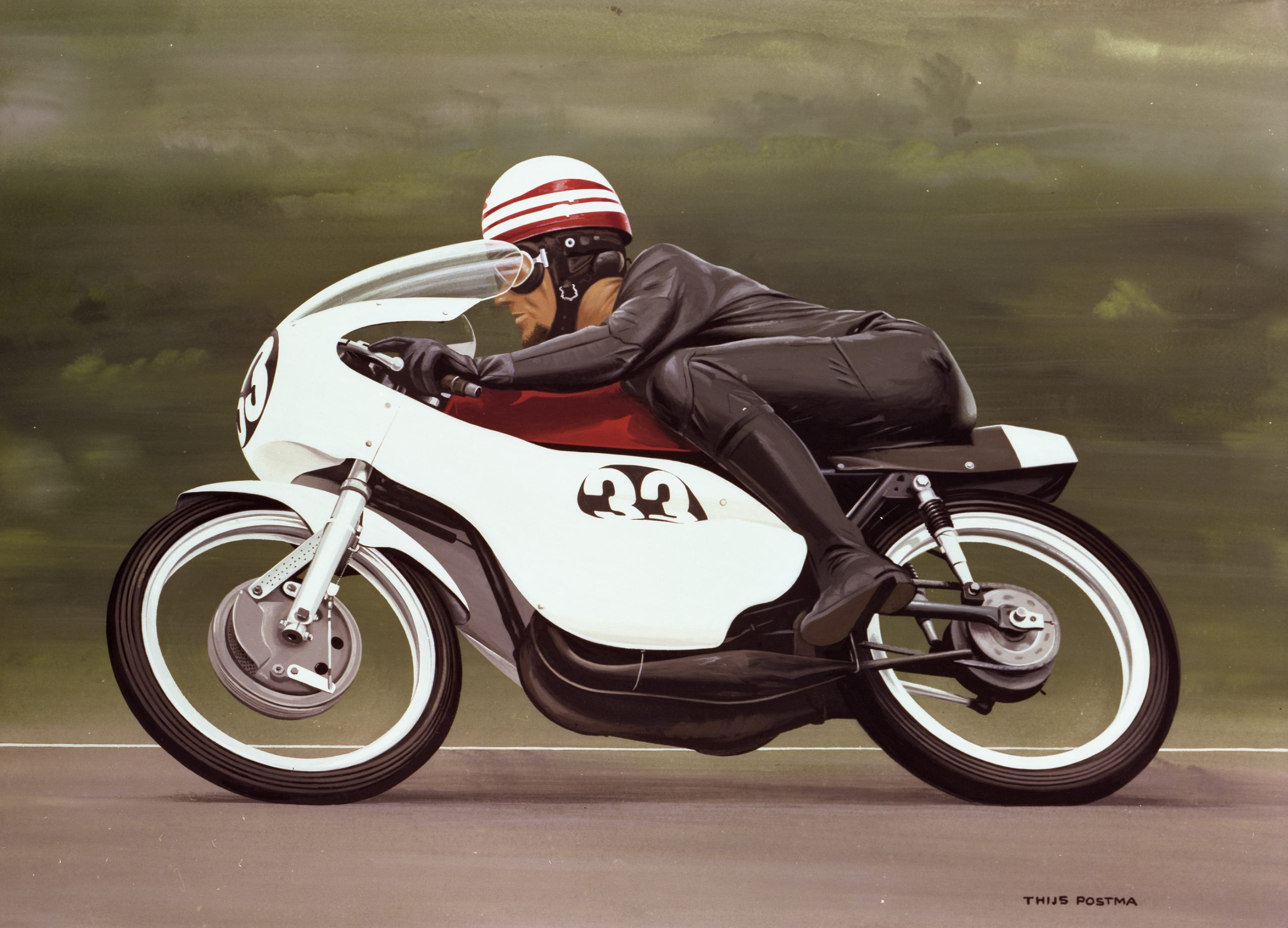 Motor Aad Droog op 125 cc 24 cm